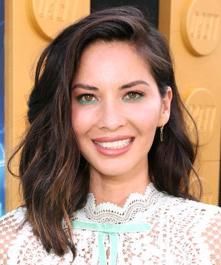 Daily Beauty Buzz: Olivia Munn's Teal Eyeliner