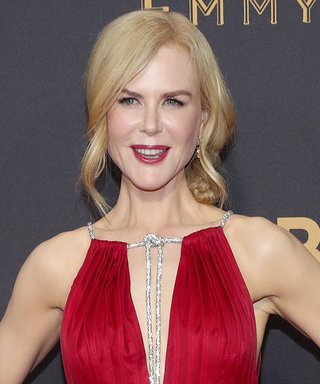 Nicole Kidman Is the Dancing Lady Emoji on the Emmys Red Carpet