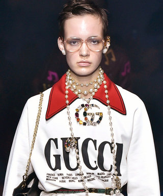 Dress Up Your Sweatshirt à la Gucci Spring 2018