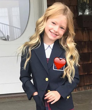 Jessica Simpson's Daughter Is a Total Kindergarten Fashionista