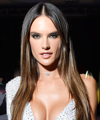 You Have to See the Left Side of Alessandra Ambrosio's Sequined Gown