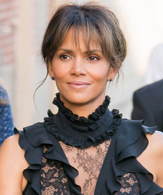 Halle Berry Just Rocked the Sheerest LBD on Jimmy Kimmel Live!