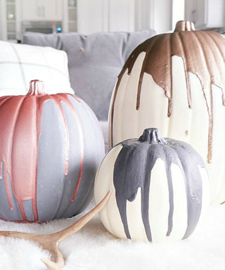11 of the Prettiest Painted Pumpkins You've Ever Seen