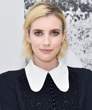 Every Blonde Will Want Emma Roberts's Champagne Pop Hair This Fall