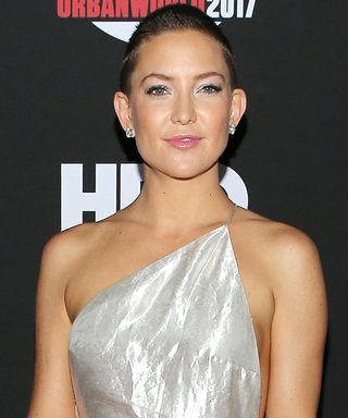 Here's Exactly How Kate Hudson Styled Her Buzz Cut for a Movie Premiere