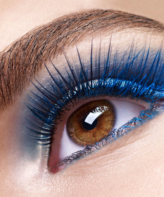 Colored Eyelashes Are the Secret to Making Your Eyes Pop