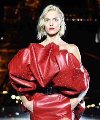 At Paris Fashion Week, Opposing Views on Femininity and Feminism from Saint Laurent and Dior