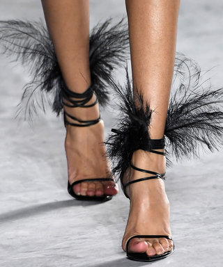 You Won't Believe the Shoes That Just Walked Down the Saint Laurent Runway
