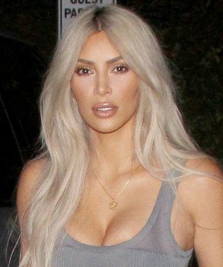 Kim Kardashian Flaunts Her Ripped Abs in a Bra and Sweatpants