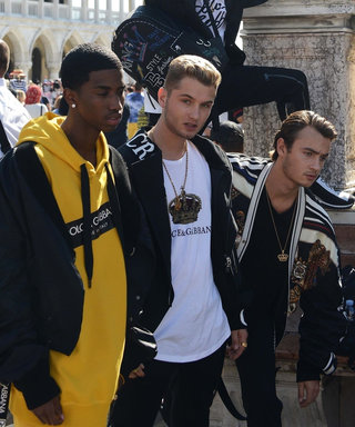 Jude Law, Diddy, and Pamela Anderson's Sons Pose for New Dolce & Gabbana Ad