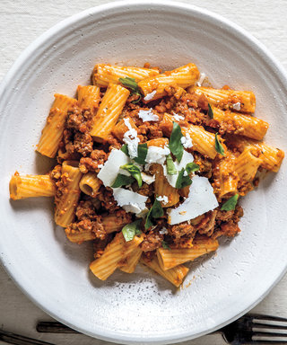 Fight the Urge to Order In and Make This Hearty Bolognese for Dinner Instead