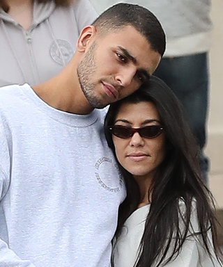 Kourtney Kardashian and Younes Bendjima Can't Stop Smiling at Disneyland