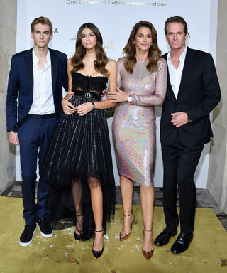Hold the Phone, Cindy Crawford and Fam Just Won Paris Fashion Week
