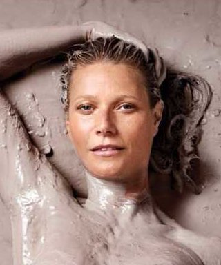 Gwyneth Paltrow Is Topless and Covered in Goop