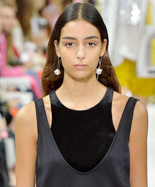 Valentino Demos How to Layer Differing Necklines at #PFW