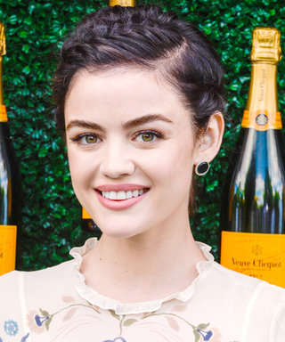 Lucy Hale Got Her Signature Beauty Look from Her Dad