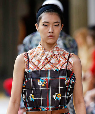 How to Layer Plaid on Plaid Like Models at the Miu Miu Runway Show