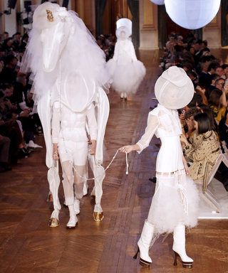 So, a Unicorn Walked the Thom Browne Runway (Like, for Real)