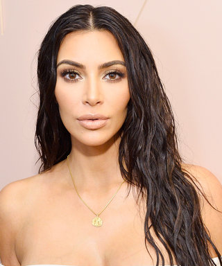 Kim Kardashian Swears By This $9 Nail Polish for Her Neutral Manis