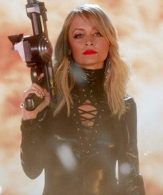 "Nicole Richie Is Taylor Swift's Doppelgänger in ""Bad Blood"" Video Spoof"