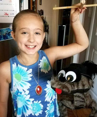 This 10-Year-Old Breast Cancer Survivor Has the Best Outlook on Life