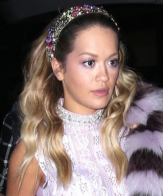 Rita Ora Night out Look Is an Early 2000's Throwback