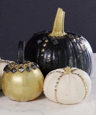 How ToCreate Your Own Studded Pumpkins This Autumn