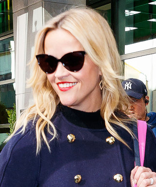 Reese Witherspoon's Cape Jacket Is Fall in a Single Layer