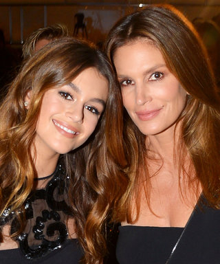 Cindy Crawford Says Kaia Gerber Didn't Want to Walk the Versace Runway with Her