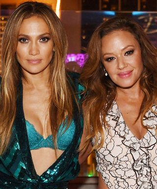 J.Lo and Bestie Leah Remini Share the First Photo from Their New Movie's Set
