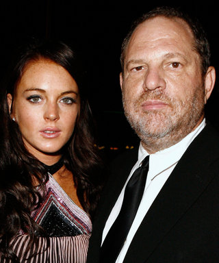 Lindsay Lohan and Her Bizarre Accent Come to Harvey Weinstein's Defense