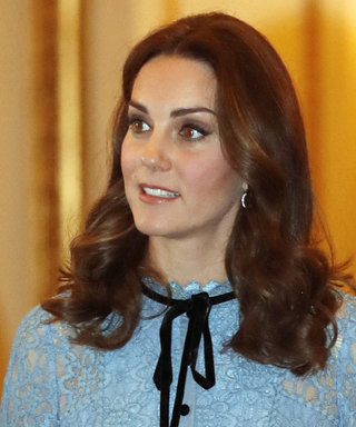 SOS: We're Swooning over Kate Middleton's Lace Dress (+ Baby Bump!)