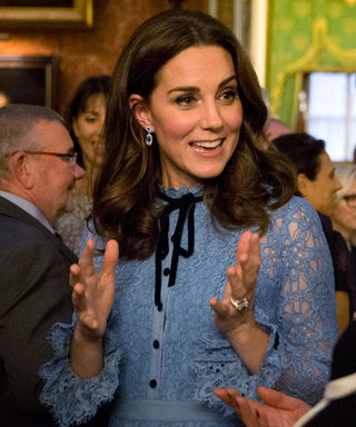 Kate Middleton Wore These $3,852 Earrings for Her Baby Bump Reveal