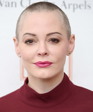 Rose McGowan Just Shaved Her Entire Head