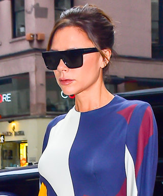 Victoria Beckham Wears Two Colorful Fall Looks in N.Y.C.