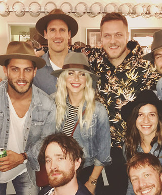 Julianne Hough Pens a Love Letter to Her Favorite Band