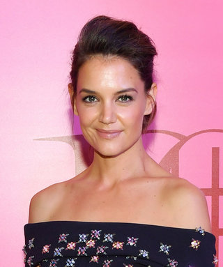 Katie Holmes and Her Cold-Shoulder Gown Illuminate a Toronto Party
