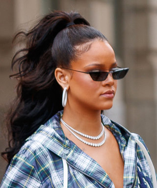 Rihanna Dressed in the Baggiest Corseted Outfit Imaginable