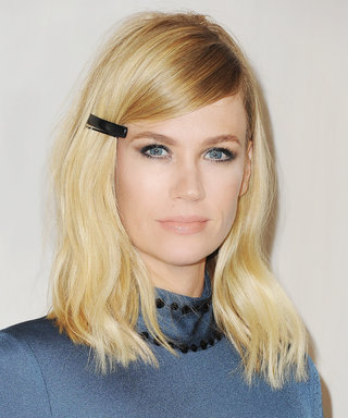 Daily Beauty Buzz: January Jones's Mod Barrette