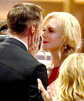 Nicole Kidman Got Asked Why She Kissed Alexander Skarsgård on the Lips at the Emmys