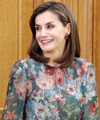 Queen Letizia Just Wore This £70 Zara Dress And It's Still In Stock