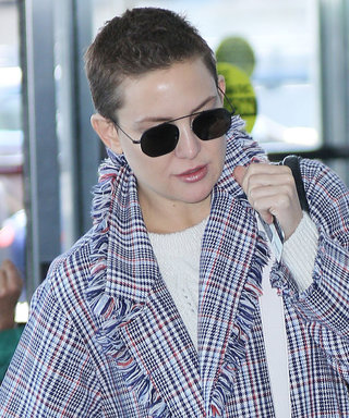 Kate Hudson Wore the Most Unique Coat to the Airport