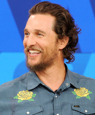 Matthew McConaughey Struck the Sassiest Pose on a Basketball Court and the Internet Is Losing It