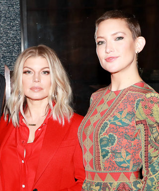 Kate Hudson Stunned in a Buzz Cut at the Bumble Bizz Launch—and Fergie Started a Conga Line