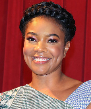 Daily Beauty Buzz: Gabrielle Union's Pink Glitter Eyeshadow