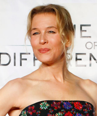 Renée Zellweger Wore a Strapless LBD for Her Night Out