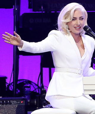 Lady Gaga Poses With All the Ex-Presidents at Relief Concert