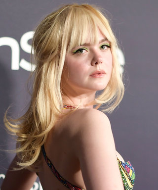 Elle Fanning Credits Big Bird for the Confidence to Wear Cool Fashion at the InStyle Awards