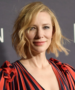 Cate Blanchett Thinks the Concept of Anti-AgingCan Be Eradicated