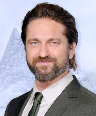 Watch Gerard Butler Get Super Emotional While Shaving His Beard